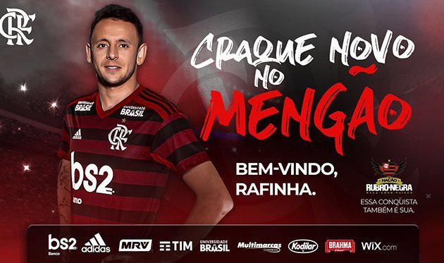 Рафинья, twitter.com/Flamengo