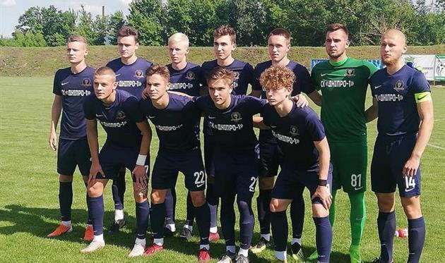 Днепр-1 (U-19) — чемпионы юниорского первенства Первой лиги