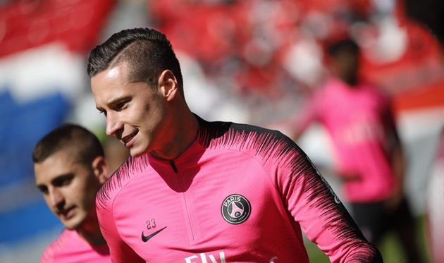 Юлиан Дракслер, photo PSG FC