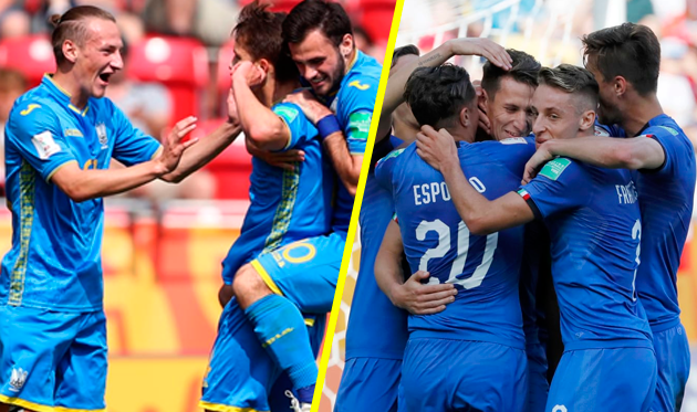 Украина U-20 — Италия U-20: онлайн-трансляция полуфинала молодежного чемпионата мира