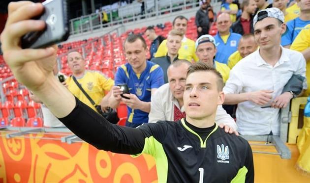 Андрей Лунин, fifa.com