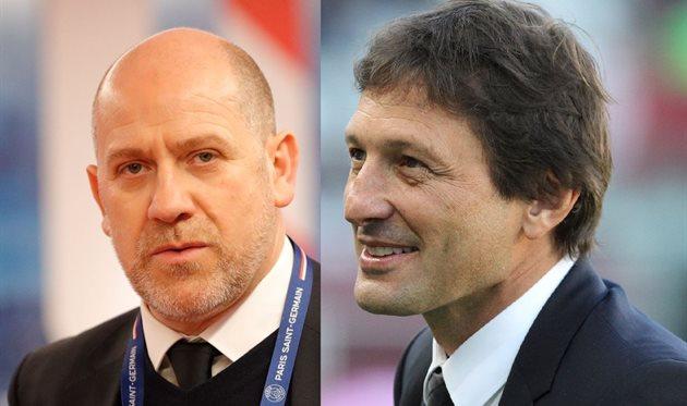 Антеро Энрике (слева) и Леонардо (справа), Football.ua/PSG FC