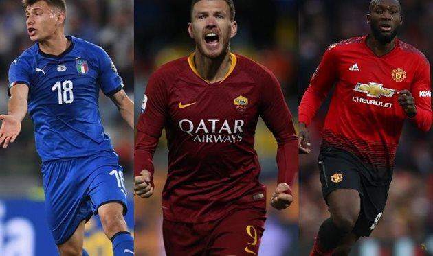 Барелла, Джеко, Лукаку, Football.ua/Getty Images