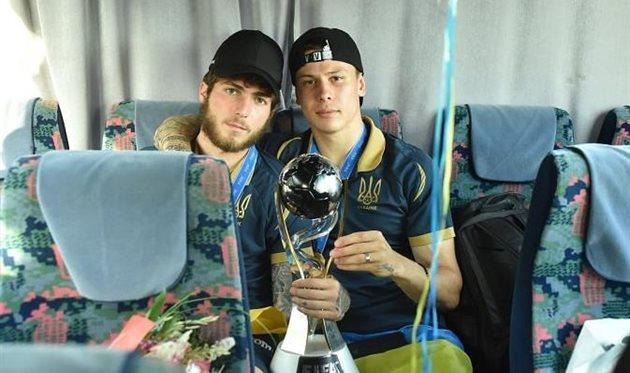 Цитаишвили и Денис Попов, фото УАФ