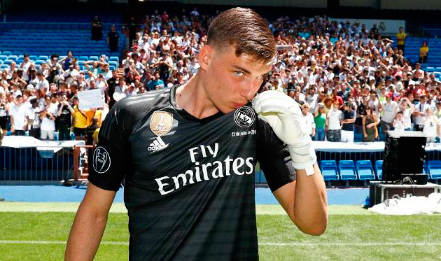 Лунин будет вторым вратарем Реала — Goal