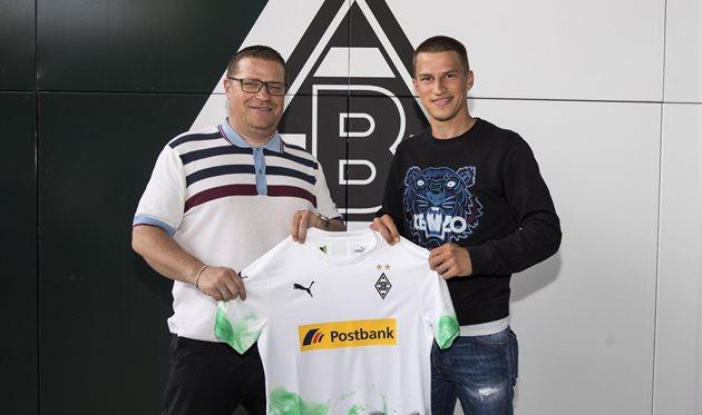 Штефан Лайнер (справа), фото ФК Боруссия М