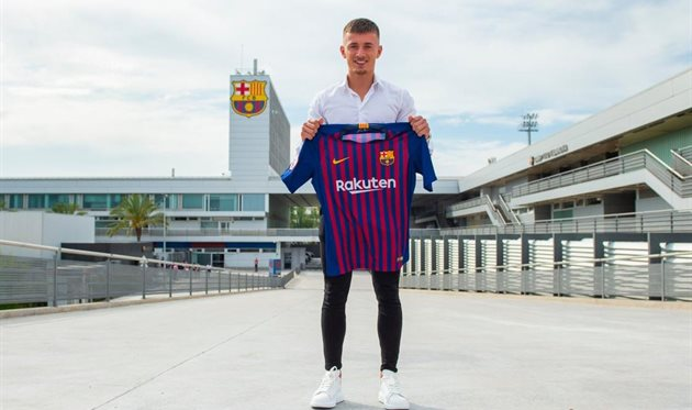 Майк ван Бейнен, photo FC Barcelona