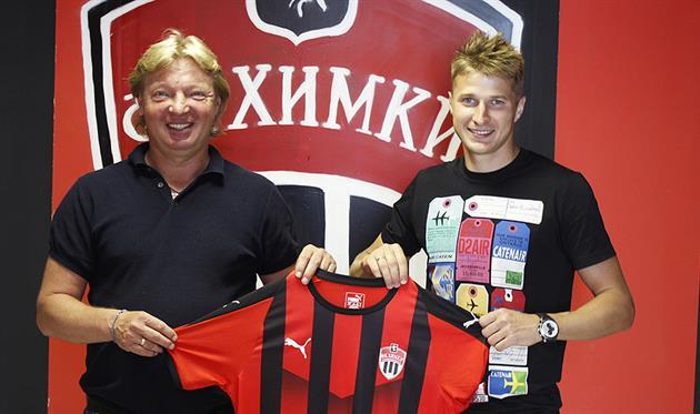 Артем Полярус (справа), ФК Химки