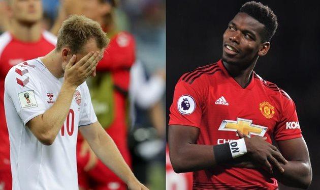 Эриксен и Погба, Football.ua/Getty Images