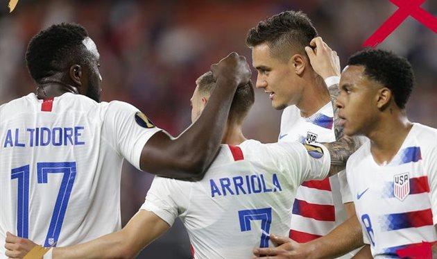 Золотой Кубок: США уничтожили Тринидад и Тобаго, Панама сильнее Гайаны