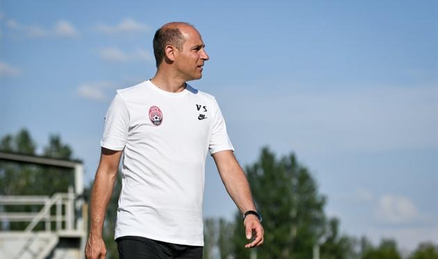 Виктор Скрипник впервые увидел своих новых подопечных в деле, фото ФК Заря