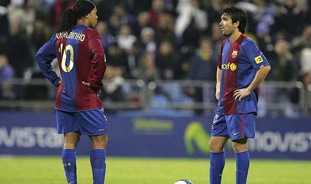 Роналдиньо и Деку, Getty Images