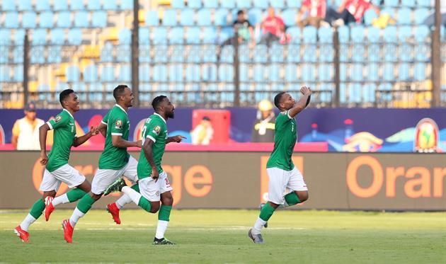 Мадагаскар - Нигерия 2:0, фото twitter.com/TotalAFCON2019