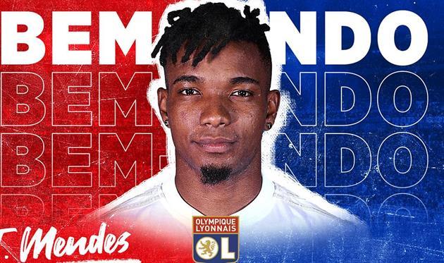 Тьяго Мендес, photo Olympique Lyonnais