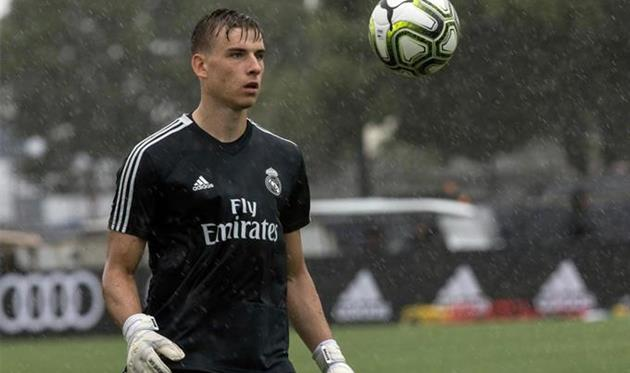 Андрей Лунин, photo Real Madrid CF