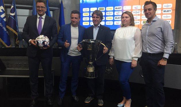 Томас Гримм (с трофеем), Football.ua