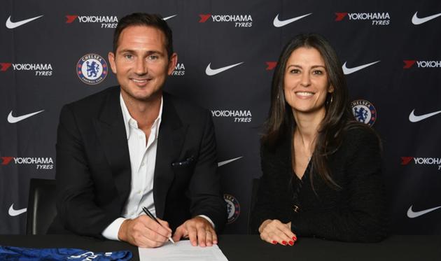 Фрэнк Лампард и Марина Грановская, photo Chelsea FC
