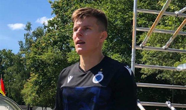 Эдуард Соболь, FC Brugge