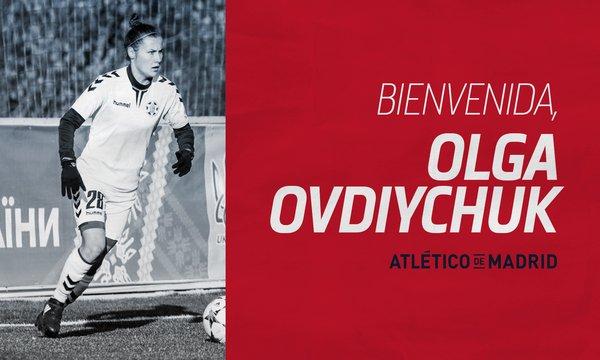Атлетико Мадрид подписал Ольгу Овдийчук