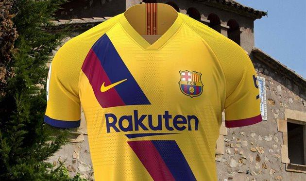 Барселона представила вторую форму — она в честь 40-летия Ла Масии