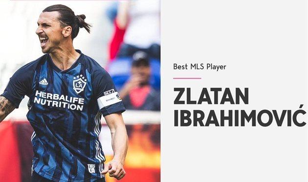 Ибрагимович — лучший года игрок MLS