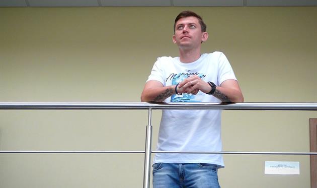 Василий Грицук, фото ФК Александрия