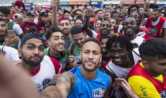 Сегодня состоится Мировой Финал Red Bull Neymar Jr's Five в Бразилии