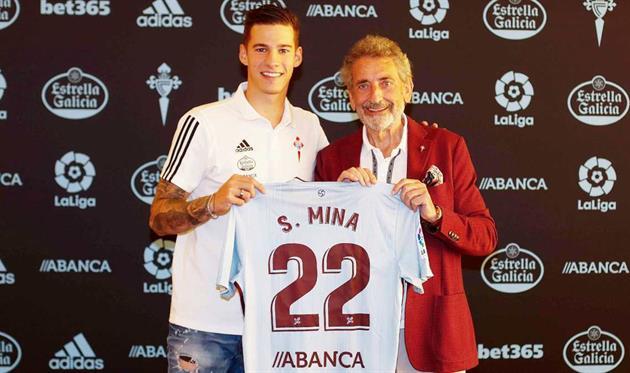 Санти Мина (слева), RC Celta