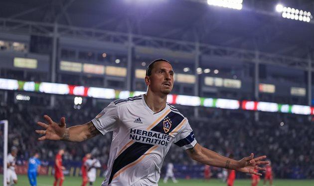 Златан Ибрагимович, фото ФК Лос-Анджелес Гэлакси