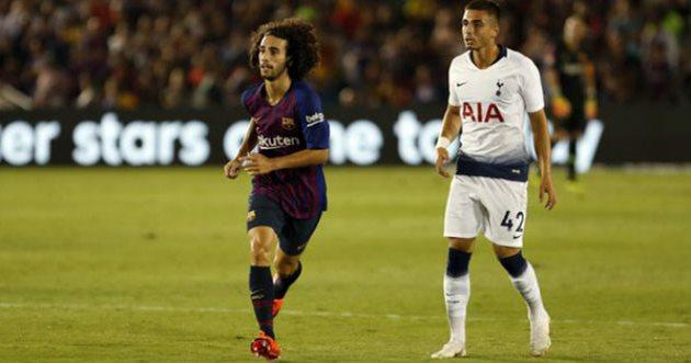 Марк Кукурелья (слева), ФК Барселона