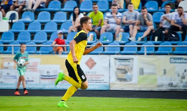 Александр Жумига, фото ФК Буковина