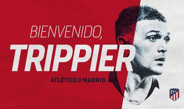 Триппьер перешел в мадридский Атлетико