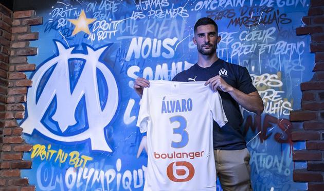 Альваро Гонсалес, photo Olympique de Marseille