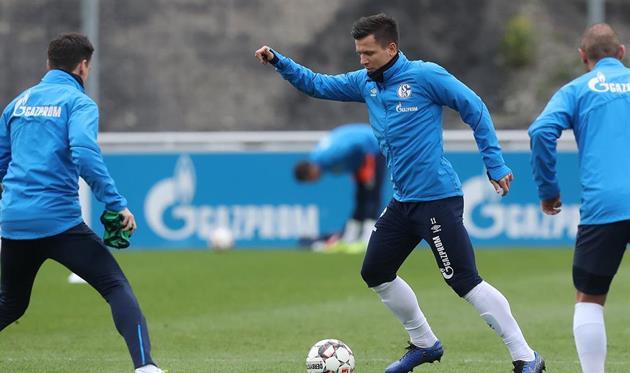 Евгений Коноплянка, photo FC Schalke 04