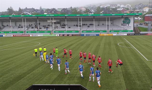 Торсхавн - Линфилд 2:2, фото ФК Линфилд
