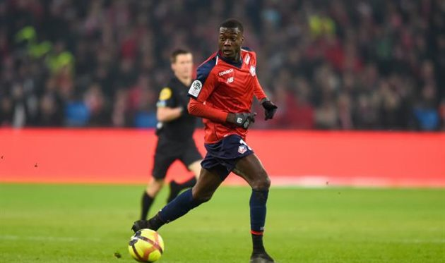 Николя Пепе, photo LOSC Lille