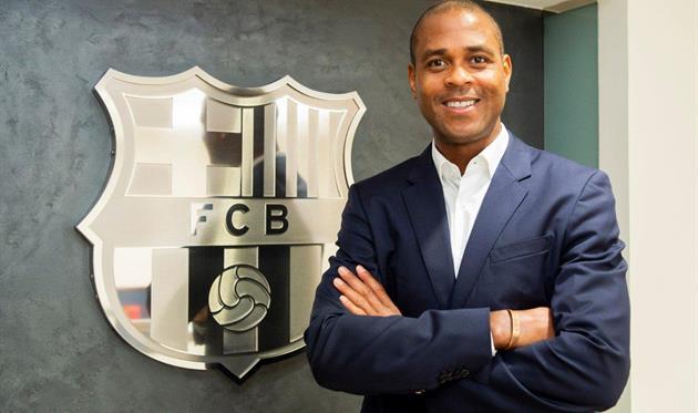 Патрик Клюйверт, FC Barcelona