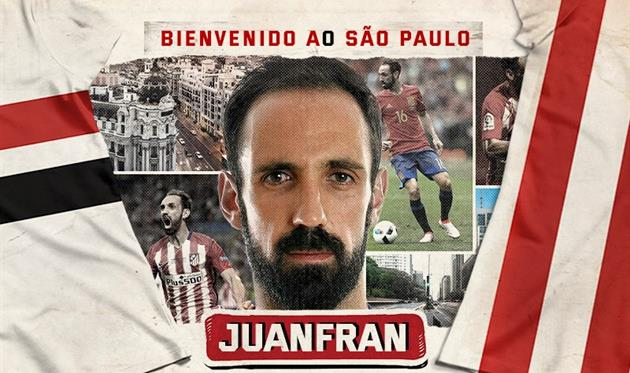 Хуанфран, фото: twitter.com/SaoPauloFC