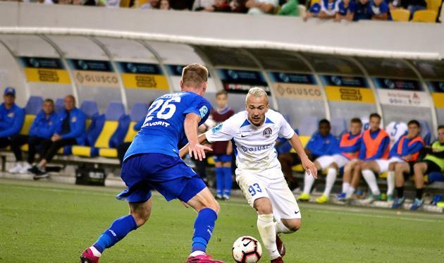 Ярослав Богунов (с мячом), фото ФК Львов