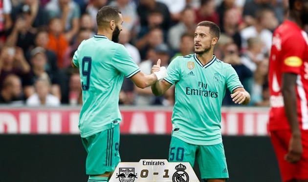 Реал выстрадал победу над Зальцбургом
