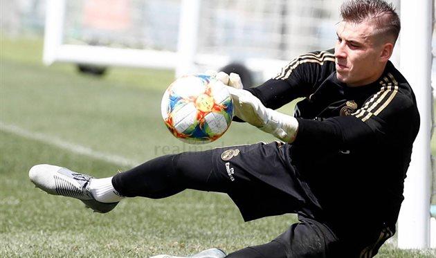Андрей Лунин, photo Real Madrid CF