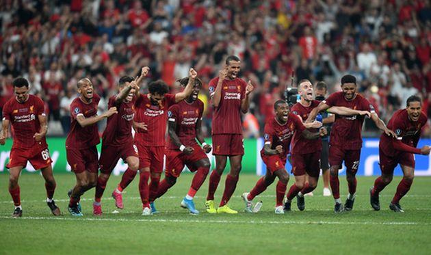 радость игроков ливерпуля, getty images