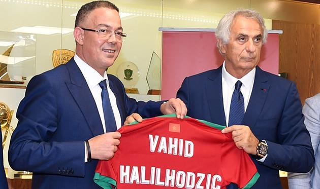 Вахид Халилходжич (справа), frmf.ma