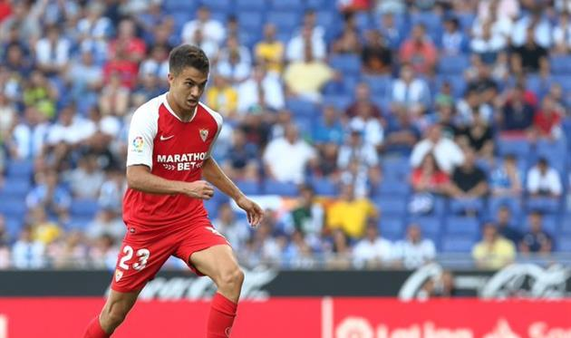 Серхио Регилон, фото: twitter.com/SevillaFC_ENG