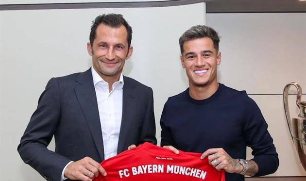 Официально: Бавария объявила об аренде Коутиньо