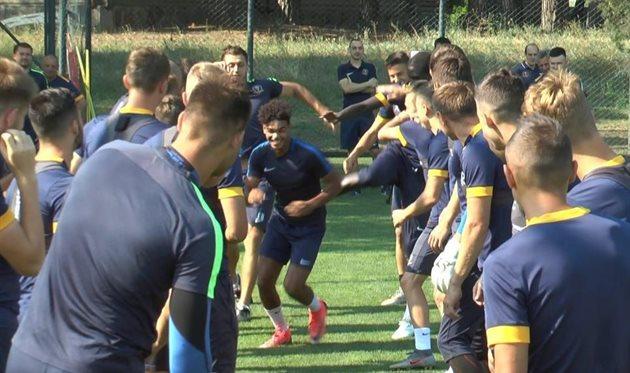 Швейцарский новичок Днепр-1: Приятно работать вместе с чемпионами мира U-20
