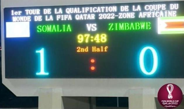 Сомали впервые в истории победили в матче отбора на чемпионат мира