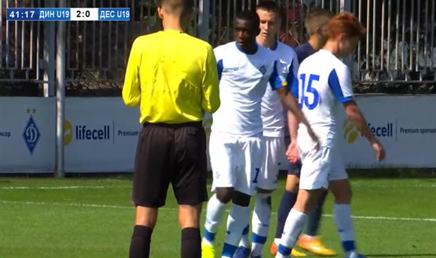 Реймонд помог сделать счет 2:0 в пользу Динамо