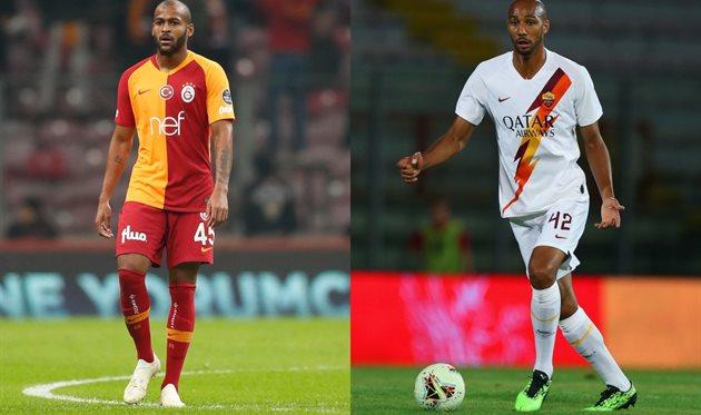 Маркао, фото https://twitter.com/GalatasaraySK, Стивен Нзонзи, Getty Images