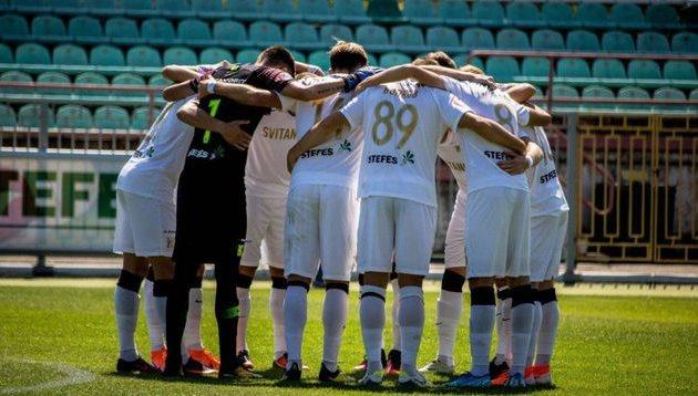 Игроки Колоса настраиваются на игру за место в верхней шестерке, фото ФК Колос